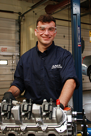 Jacob Maguire, HACC automotive technology student