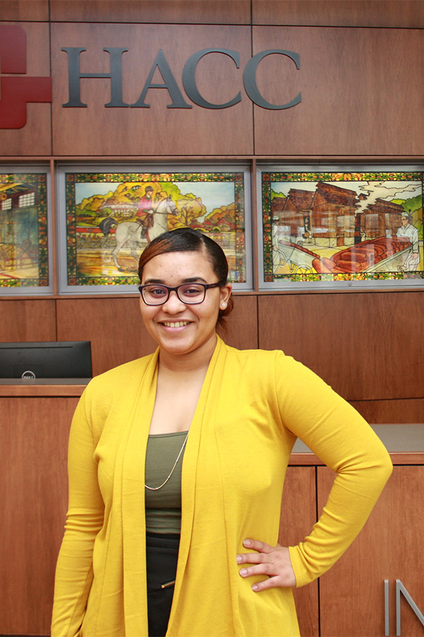 Keichsla Morales-Pena, HACC early childhood elementary education student