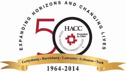 HACC Official 50th Anniversary Logo