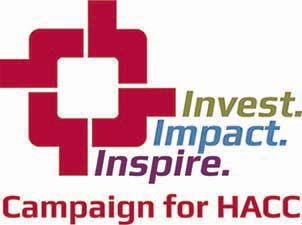 Invest. Impact. Inspire. Campaign for HACC.