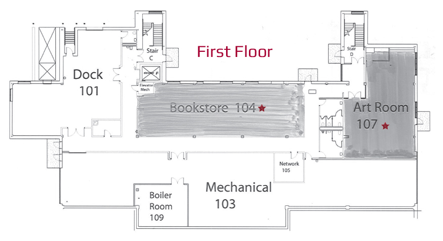 Lancaster Campus East Building First Floor Naming Opportunities