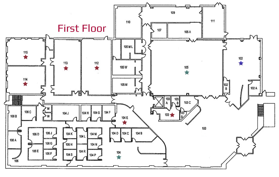 Lebanon Campus First Floor Naming Opportunities