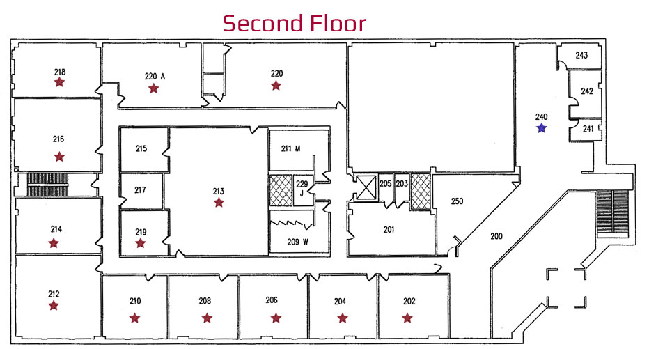 Lebanon Campus Second Floor Naming Opportunities
