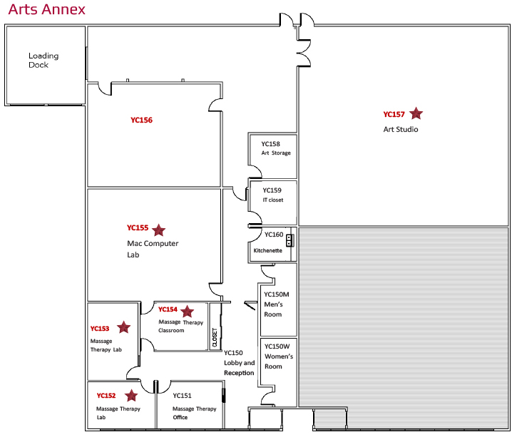 York Campus Cytec Arts Annex Naming Opportunities