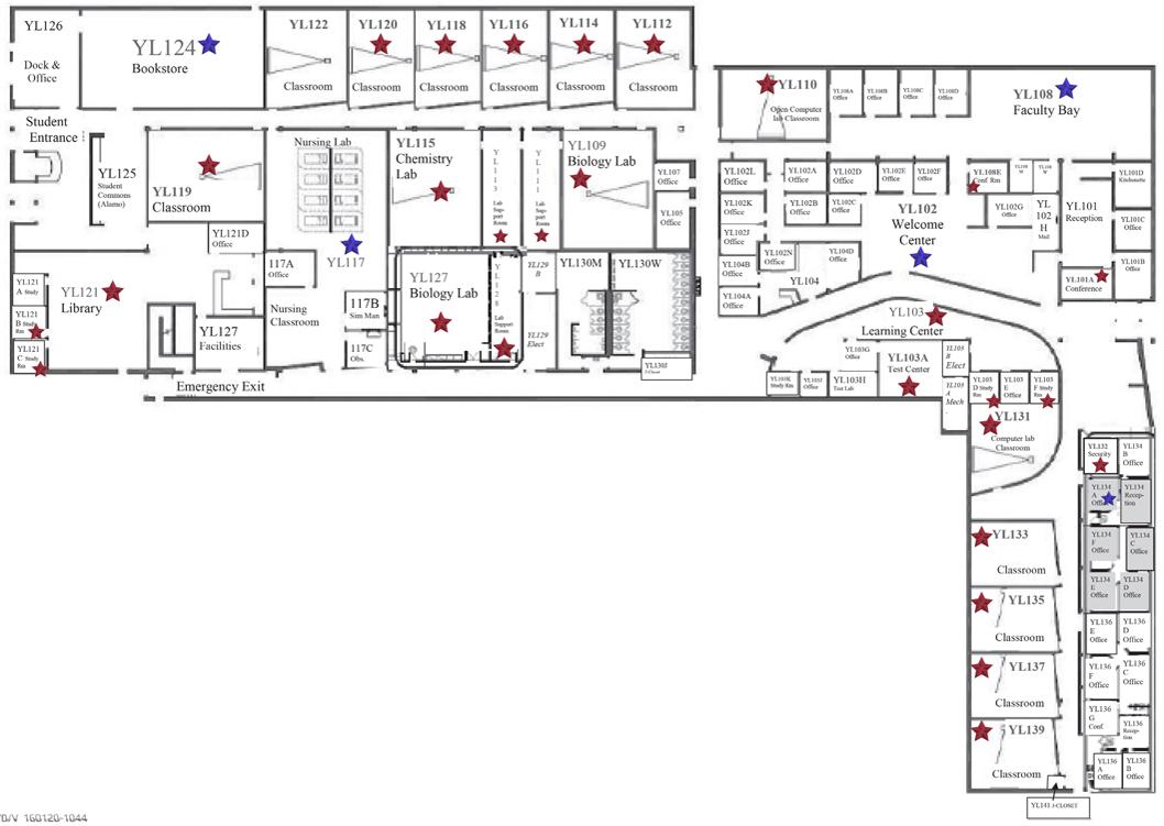 Wccc Campus Map.Hacc Campus Map Interactive Map Msu