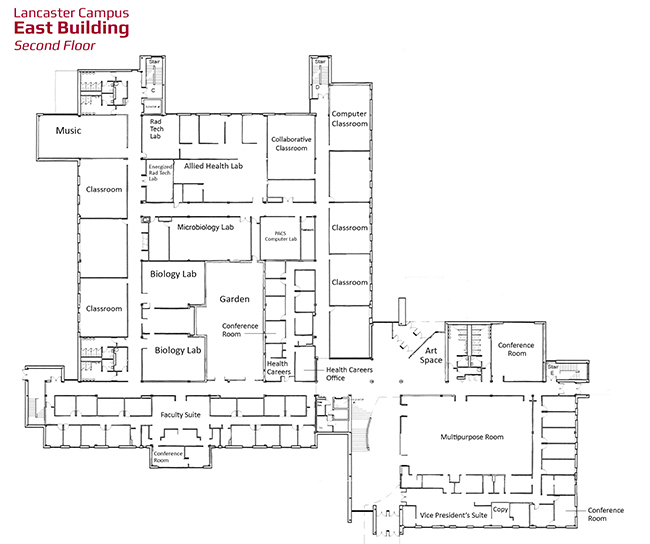 hacc lancaster campus map Naming Opportunities Lancaster Campus hacc lancaster campus map