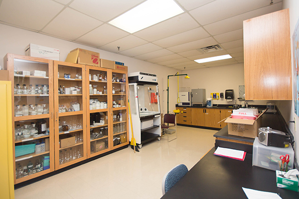 Science Prep Room (121A)