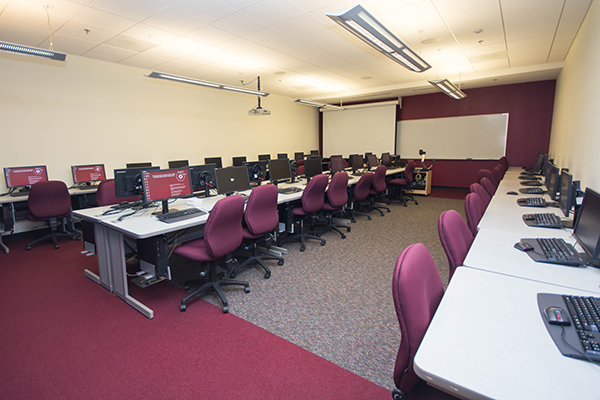 Library Instructional Computer Lab (206)
