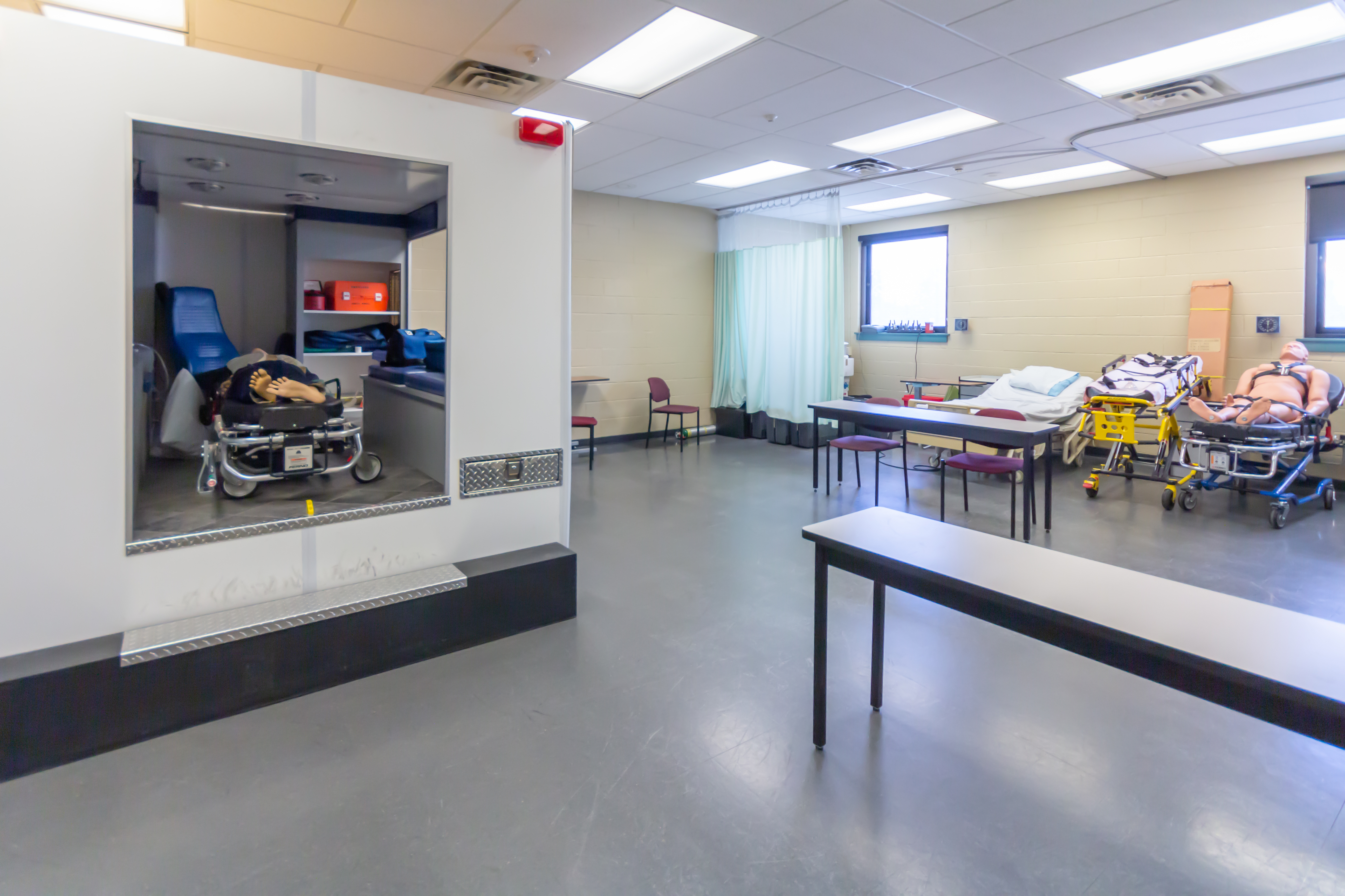 Emergency Medical Services Classroom (208)