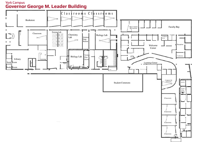 hacc lancaster campus map Naming Opportunities York Campus hacc lancaster campus map