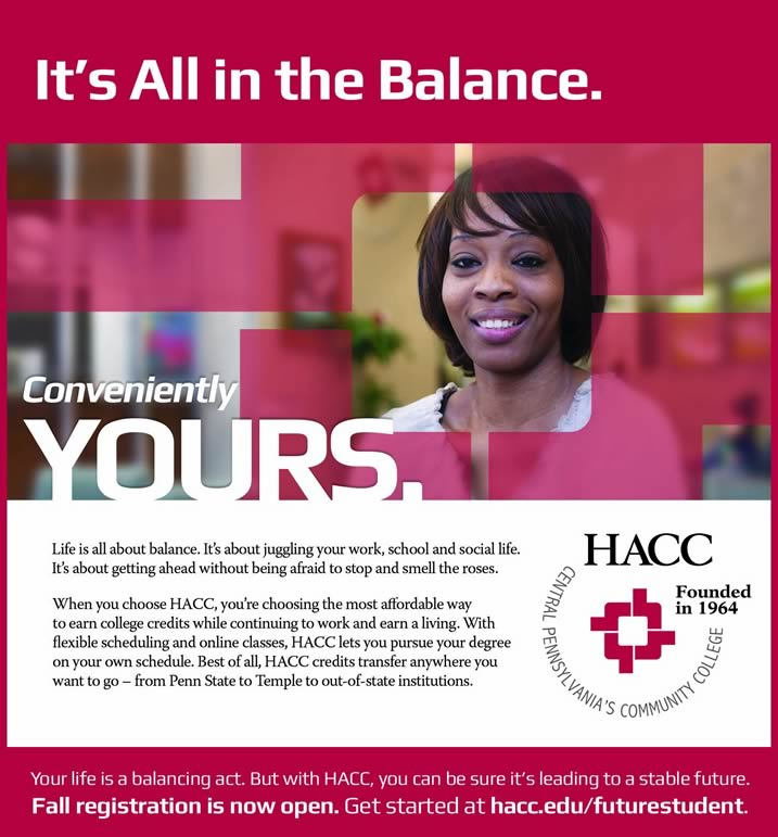 Get Started at HACC!