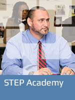 STEP Academy button