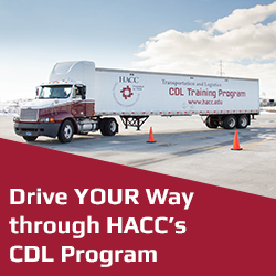 Drive your way through HACC CDL program