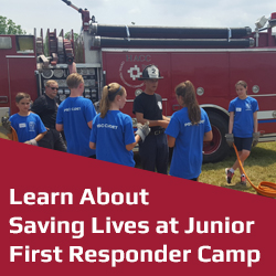 Junior First Responder Camp 2018