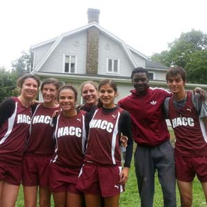 HACC Cross Country Team 2013