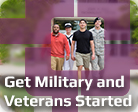 Get Military and Veterans Started