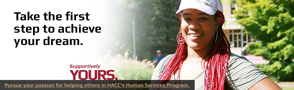 Help others in a human services program