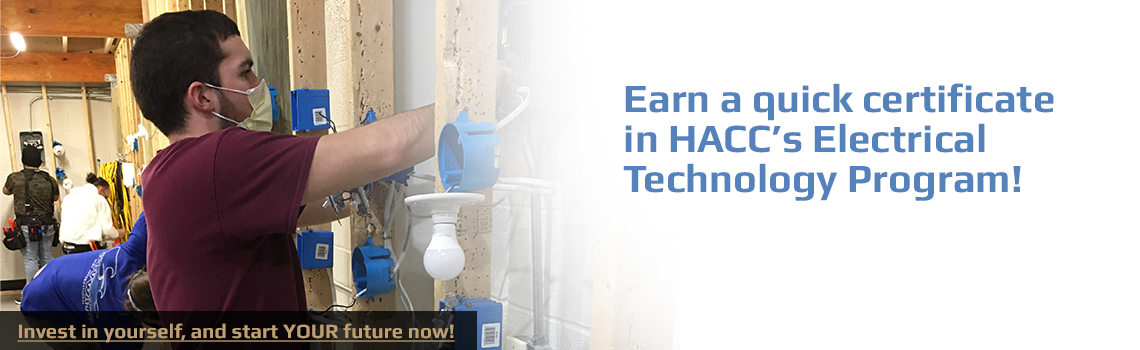 Earn a certificate in electrical technology