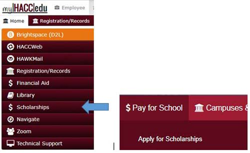 myHACC Screen shot