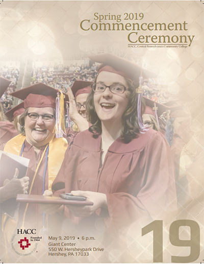 Spring 2019 Commencement Program400