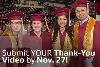 Fall Commencement Thank you Video Submissions