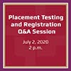 PlacementTestingRegistrationZoomSession